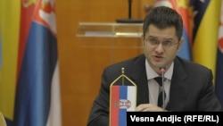 Министерот за надворешни работи на Србија Вук Јеремиќ