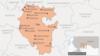 Bashkortostan -- Map of Bashkortostan (Russian version)