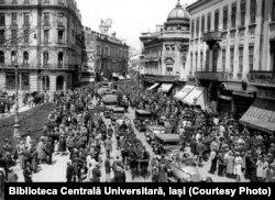 Orașul București în anii 1930. Sursa: Biblioteca Centrală Universitară, Iași