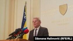 Šefik Džaferović, član Predsjedništva BiH,