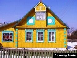 Кожны вясковы дом мае сваё непаўторнае мастацкае аблічча