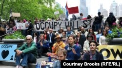 Occupy Wall Street, protesti u New Yorku, 2012.