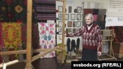 Вера Белакоз у Гудзевіцкім музэі