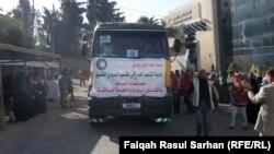 مساعدات عراقية للاجئين سوريين في الأردن