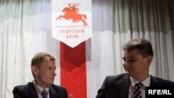 Аляксей Янукевіч і Юры Губарэвіч