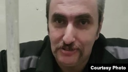 Борис Стомахин. Тюремное фото 2018 года