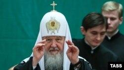 Патріарх РПЦ Кирило, архівне фото
