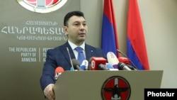 Пресс-секретарь РПА Эдуард Шармазанов (архив)
