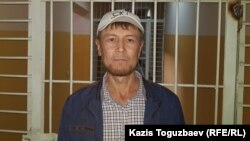 Kazakhstan -- Defendant Bekjon Shalabaev in the basement in the building of the Alatau District Court on the way to the courtroom. Almaty, 31Oct2019.