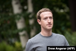 Fondatorul Facebook, Mark Zuckerberg (foto de arhivă)