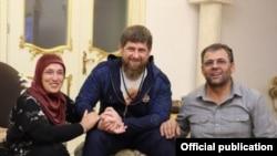 Зулай Кадырова, Рамзан Кадыров и Сахаб Закриев