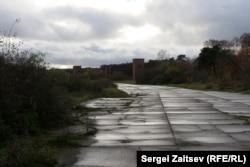 Взлетная полоса бывшего аэродрома