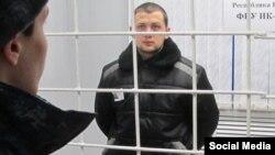 Геннадий Афанасьев во время видео-конференции, проводившейся в суде