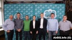 Екипът от доброволци, събран от AirBG.Info, провели изследването