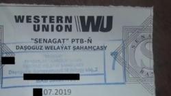 Türkmenistanda Western Union hyzmatlary we daşary ýurt walýutasyndaky bank geçirmeleri elýeterli däl
