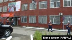 "Здание одного из цехов компании ""АрселорМиттал Темиртау""."