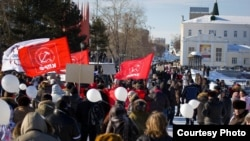 Шествие За честные выборы в Екатеринбурге