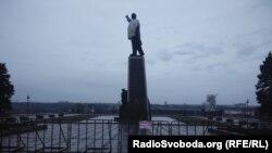 Пам'ятник Леніну в Запоріжжі, 31 січня 2015 року