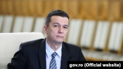 Romanian Prime Minister Sorin Grindeanu (file photo)