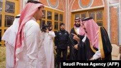 صلاح خاشقجی در دیدار با پادشاه و ولیعهد عربستان سعودی