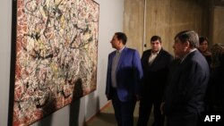 The Berlin art exhibition was supposed to have featured works by Iranian modern artists as well as Western painters, including Jackson Pollock (file photo)