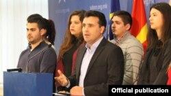 Zoran Zaev lider SDSM