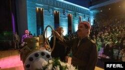 الرئيس العراقي جلال الطالباني ورئيس اقليم كردستان مسعود البارزاني