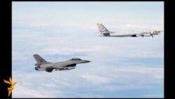 НАТО и Русија, блиски средби во воздухот
