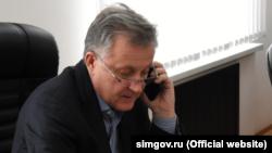 Виктор Агеев, глава российского горсовета Симферополя