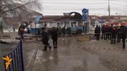 Выбух у тралейбусе ў Валгаградзе