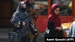 The new Taliban-led government has issued several decrees rolling back the rights of girls and women. (file photo)