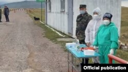 Контрольно-пропускной пункт «Каркыра-автодорожный»в Иссык-Кульской области.