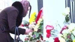 Մոմավառություն՝ ՌԴ-ում Հայաստանի դեսպանատան առջեւ