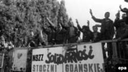 Solidarity was founded at the Gdansk shipyard