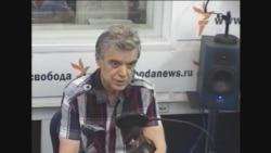 Руслан Хасбулатов в студии Радио Свобода