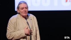 """Михаил Белчев по време на връчването на наградите """"Икар"""" на 11 май 2021 г."""