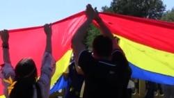 Tricolorul la Prut