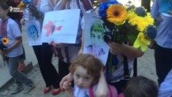 У Празі з нагоди Дня пам'яті жертв депортації провели акцію солідарності з кримськими татарами
