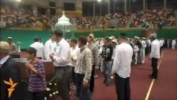 Махачкалада пәйгамбәр күргәзмәсенә халык көне-төне чират торды
