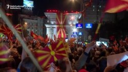 Macedonian Protesters Reject EU Call To Break Political Deadlock