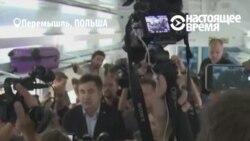 """Михаил Саакашвили об остановленном поезде: """"только барыга мог до такого додуматься"""""""