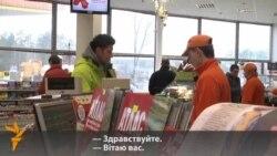 Беларуская мова ў дзеяньні. Вялікі відэарэпартаж з запраўкі А-100