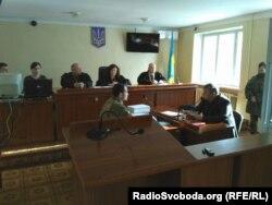 Зал заседаний в Новоайдарском районном суде