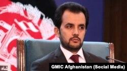 د افغانستان د عامې روغتیا وزارت سرپرست وحید مجروح