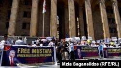 La protestele de la Tbilisi