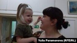 Татьяна Петрова с дочкой Роксаной