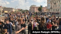 Акция 31 августа в Москве