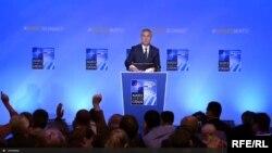 Йенс Столтенберг на саммите НАТО