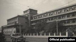 Снесенная гостиница «Интурист» в Баку