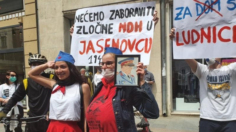 Thousands Protest Sarajevo Mass Honoring Pro-Nazi WWII Collaborators